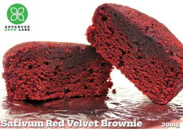 Sativum Red Velvet Brownie -20mg single 1783